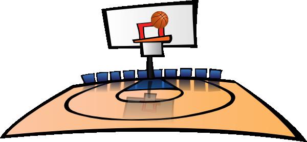 600x278 Basketball Court Clipart Clip Clipart Panda