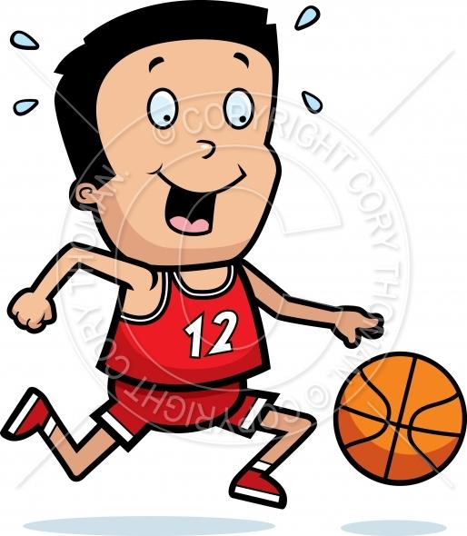 514x590 Cartoon Boy Basketball Vector And Royalty Free License