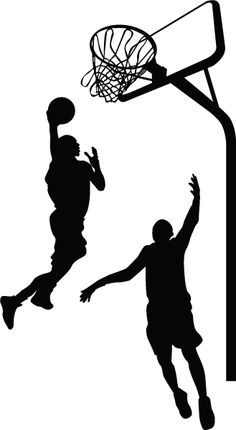 236x430 Pick Your Color Vinyl Wall Sticker Decal Art Basketball Player By