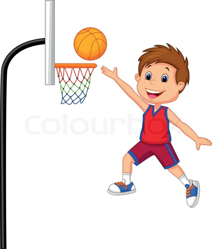 680x800 Playing Games Basketball Clipart