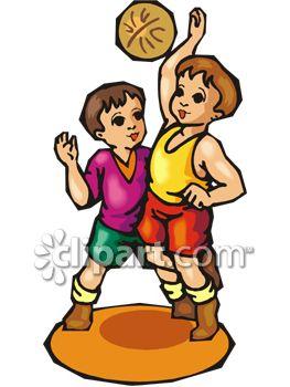 263x350 Boy Clipart Play Basketball