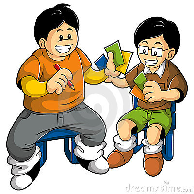 400x400 Child Clipart Playing Card