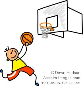 292x300 Illustration Of A Little Boy Playing Basketball