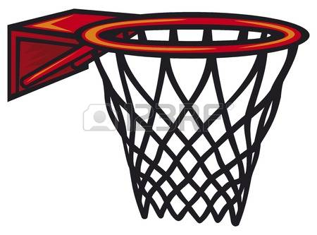 450x333 Basketball Goal Clipart
