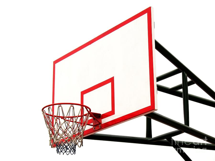 900x674 Basketball Hoop Photograph By Yali Shi