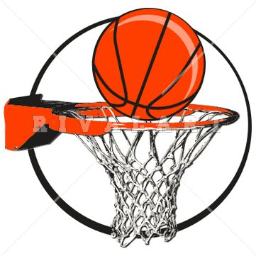361x361 Basketball Graphics Clipart