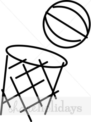 292x388 Cartoon Basketball Hoop Clipart Party Clipart Amp Backgrounds
