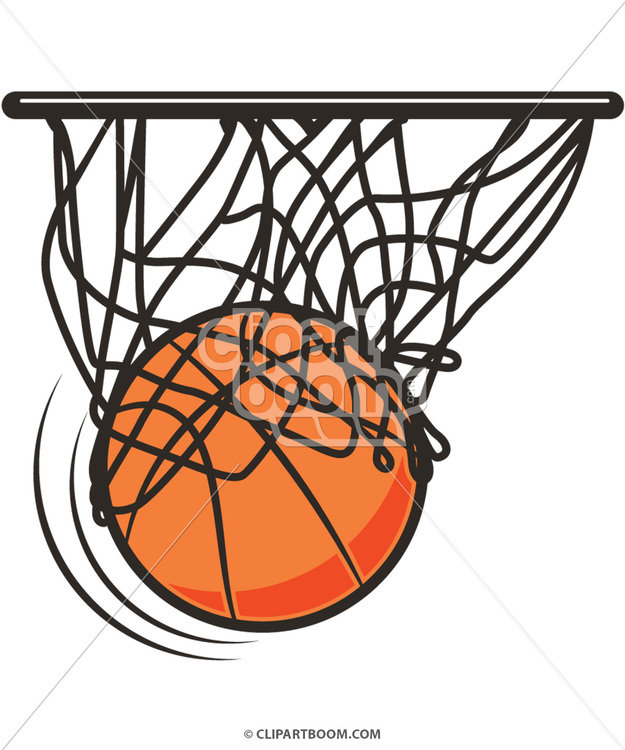 625x750 Vector Basketball Clip Art