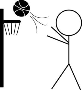 274x300 Basketball Basketball Cliparts