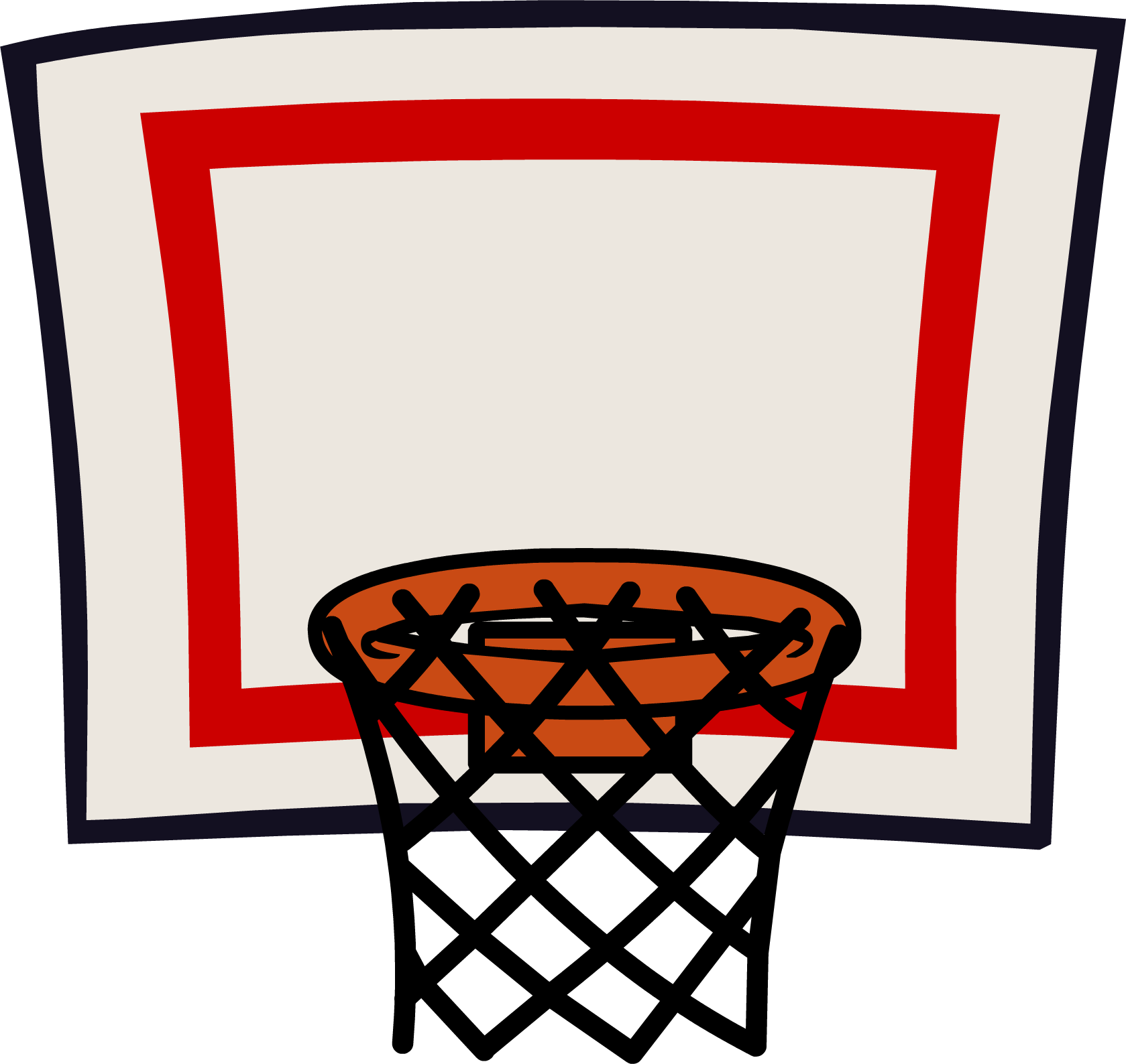1679x1588 Basketball Going Through Net Clipart