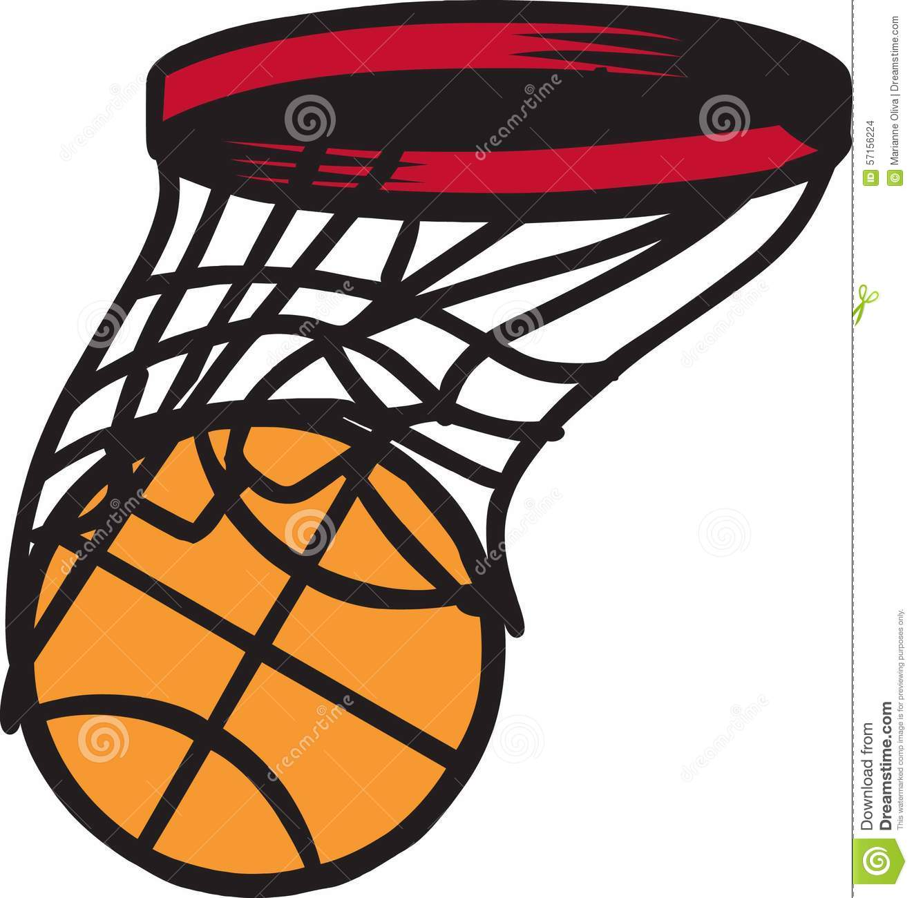 1323x1300 Basketball Swish Clipart