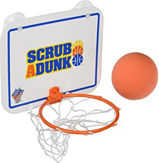 312x320 Slam Dunk Bathroom Basketball Game W Floor Mat