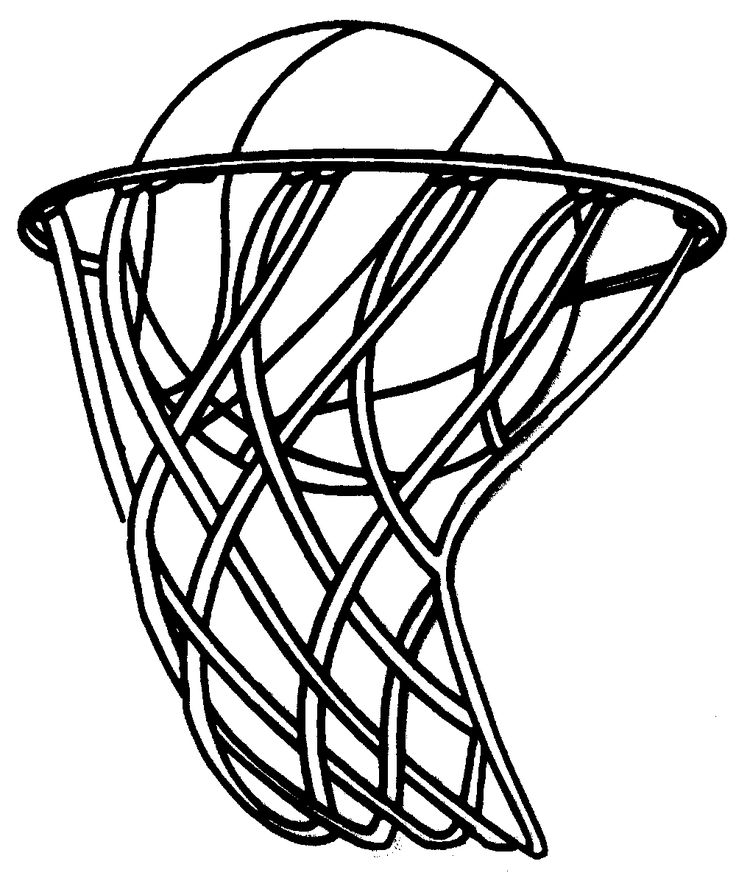 736x878 Basketball Hoop Hoop Basketball Ring Net Clipart 2