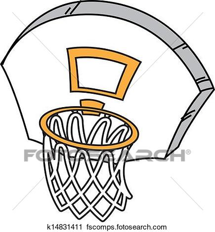 435x470 Basketball Hoop Clip Art And Illustration. 4,113 Basketball Hoop