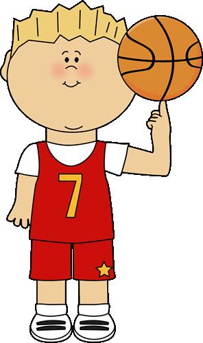 296x500 Little Boy Clipart Basketball Player
