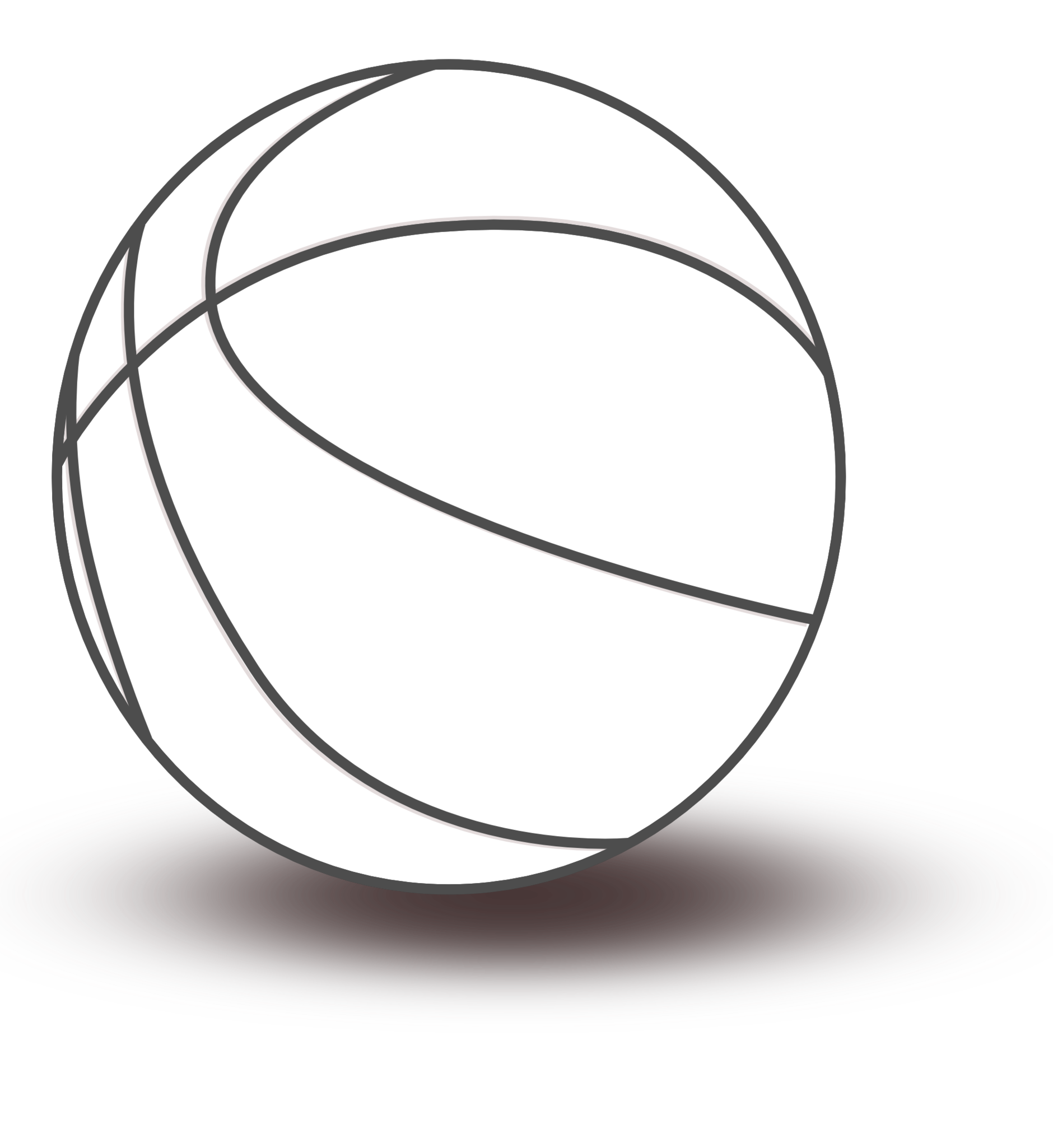 1880x2050 Basketball Black And White House Clipart Black And White 4