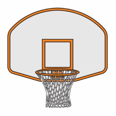 400x400 Basketball Hoop Hoop Clipart Black And White Gallery