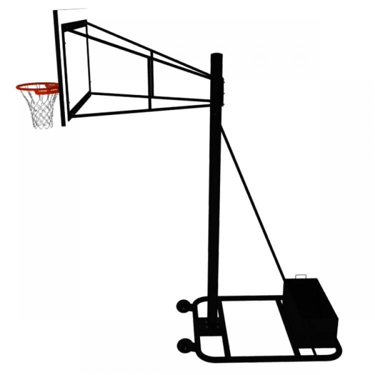 750x750 Basketball Hoop Side View Clipart Clipart Panda