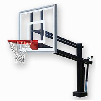 350x350 Half Court Sports, Pool Side Basketball Goals, Basketball Hoops