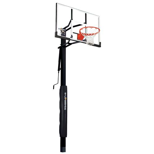 500x500 Silverback 54 In Inground Tempered Glass Basketball Hoop Academy