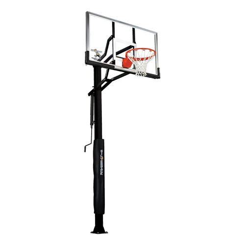 500x500 Silverback 60 In Inground Tempered Glass Basketball Hoop Academy