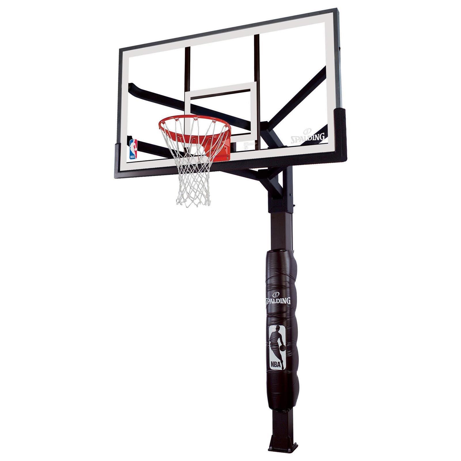 1600x1600 Spalding The Beast Glass Portable Basketball Hoop System Hayneedle