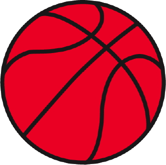 340x339 Basketball Clip Art 2