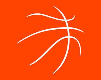 340x270 Basketball Svg Basketball Monogram Split Monogram Svg
