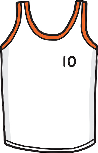 Basketball Jersey Clipart