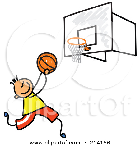 450x470 Boy Playing Basketball Clipart