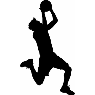 320x320 Clipart Basketball Player