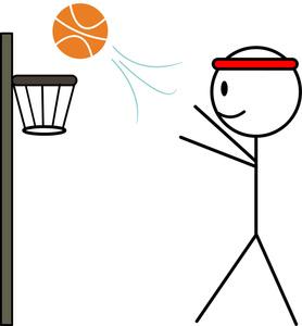 278x300 Sports Cartoon Clipart Image