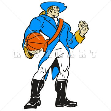 Basketball Players Clipart