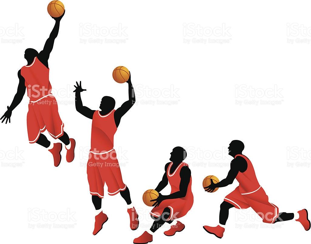 1024x802 Basketball Player Dunking Clipart