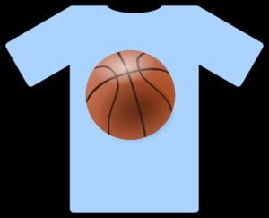 300x243 Light Blue Shirt Basketball Clip Art