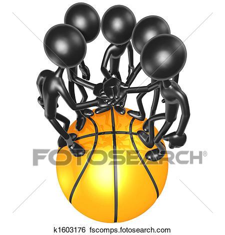 450x470 Stock Illustration Of Basketball Team K1603176