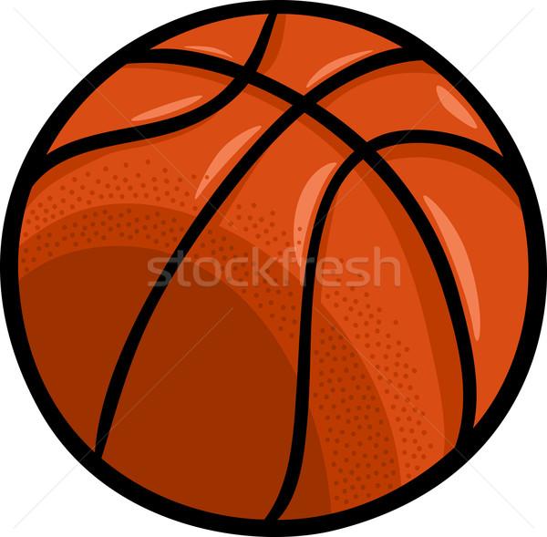 600x589 Basketball Ball Cartoon Clip Art Vector Illustration Igor