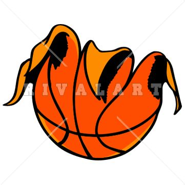 Basketballs Clipart
