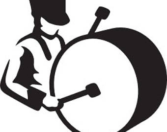 340x270 Bass Drum Decal Etsy