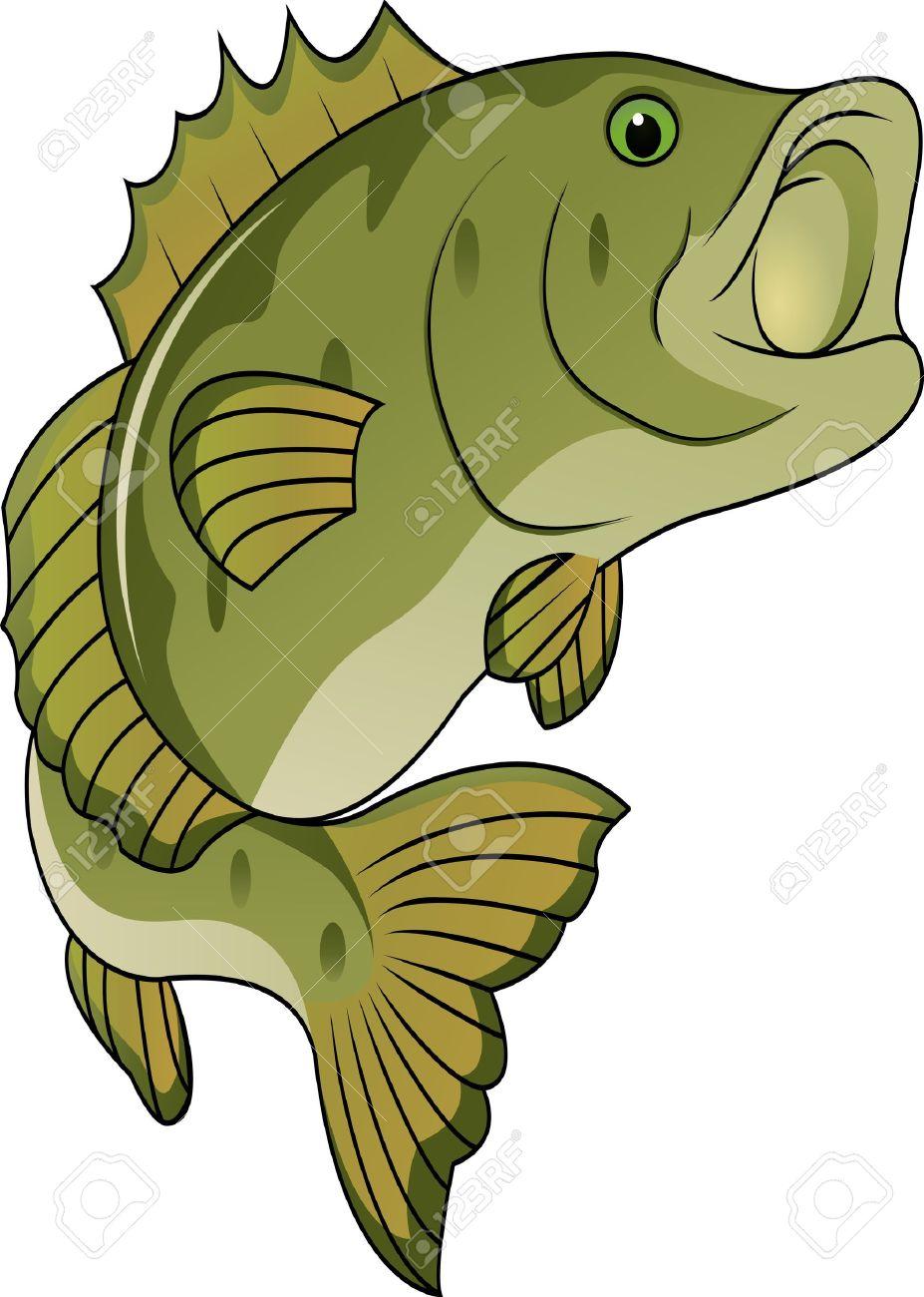 927x1300 Fish Clipart Bass
