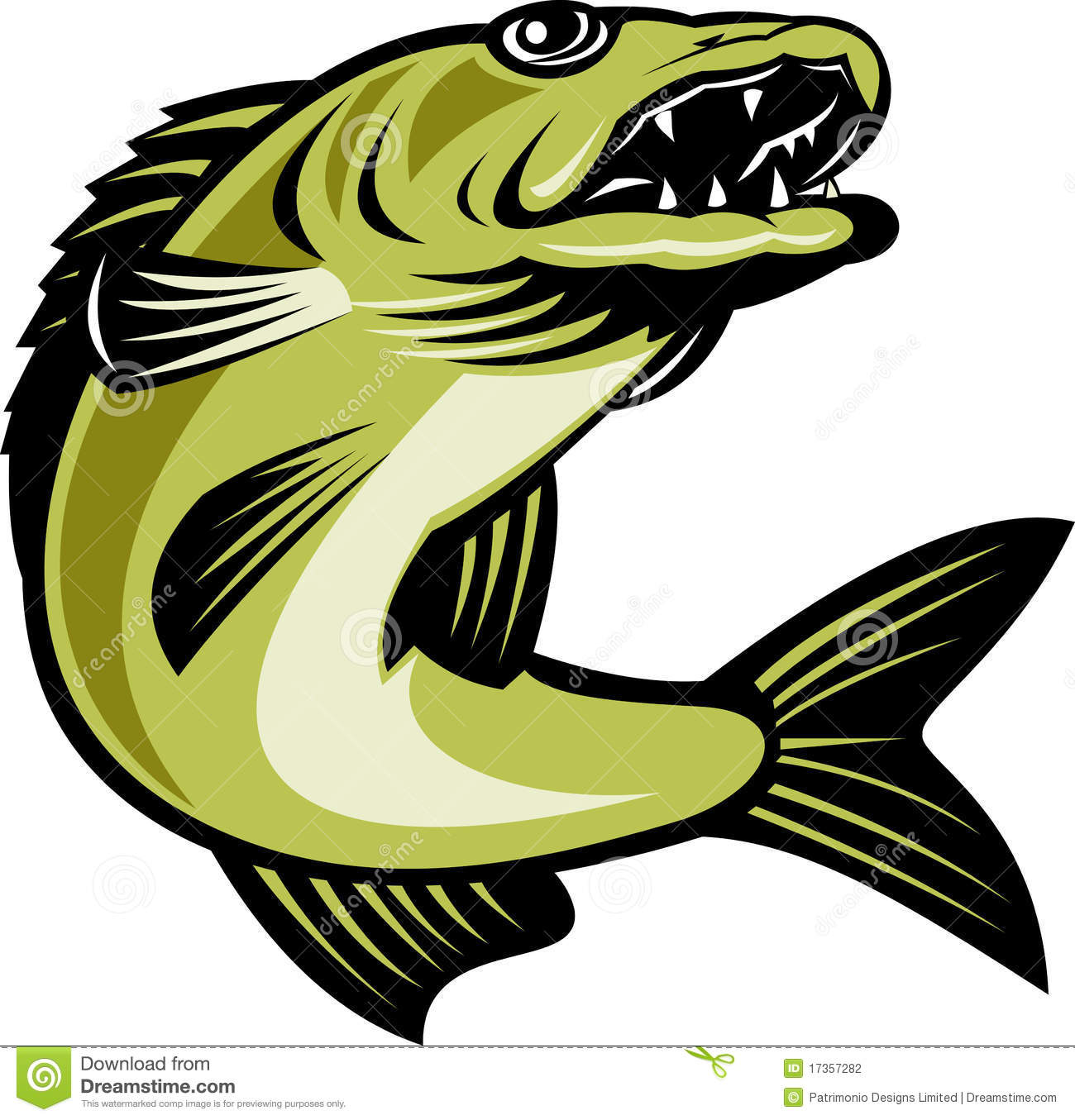1300x1355 Jumping Fish Clipart