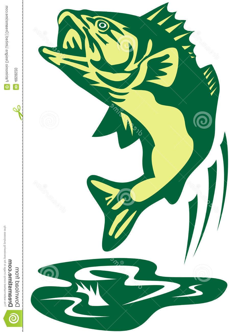 943x1300 Top 10 Bass Fish Clip Art Jumping File Free