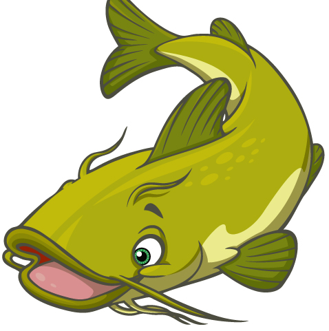 478x481 Best Catfish Clip Art