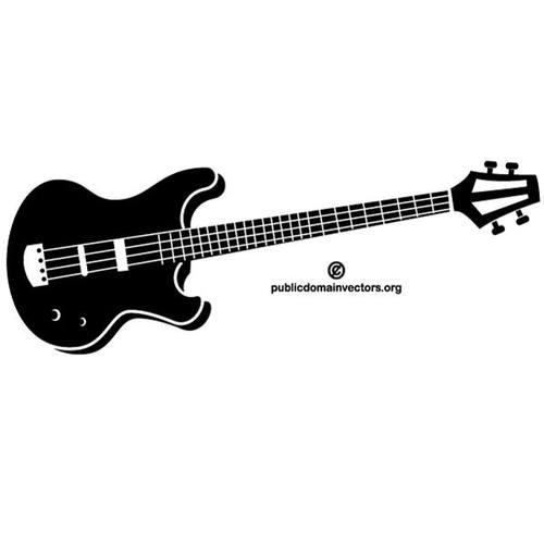 500x500 Bass Guitar Clipart