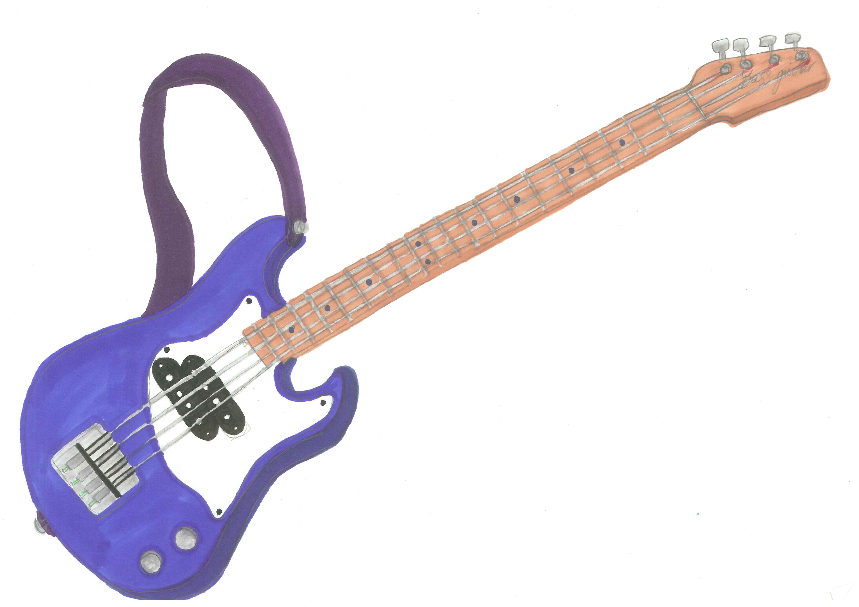 4680x3307 Electric Bass Guitar Clip Art Clipart Panda