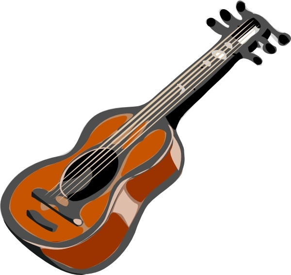 600x567 Guitar Clip Art Free Vector In Open Office Drawing Svg ( Svg