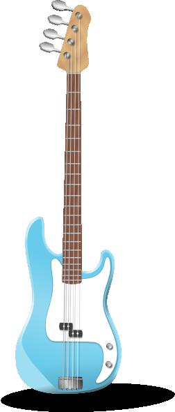 252x591 Bass Guitar Clip Art
