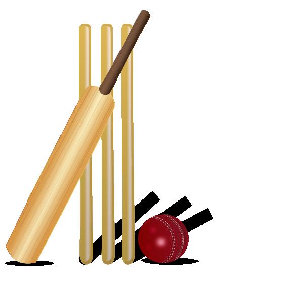 555x555 Cricket Clipart Bat Ball