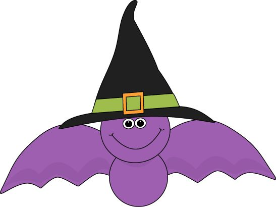 Bat Cartoon Clipart