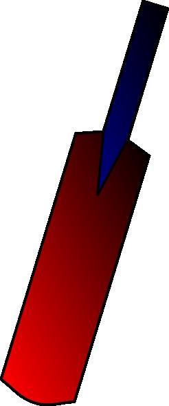 246x588 Bat Clipart Circket